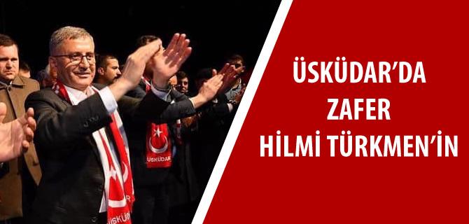 Üsküdar Başkan Hilmi Türkmen ile devam dedi