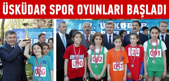 Üsküdar 7'nci Spor Oyunları başladı