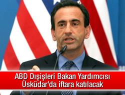 ABD Dışişleri Bakan Yardımcısı Üsküdar'da iftara katılacak