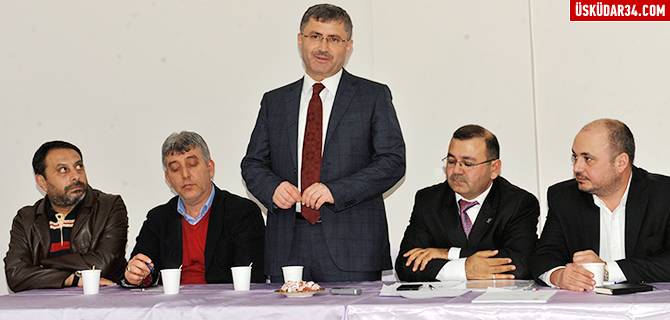 AK Parti �sk�dar, ''Ba�kanla Ba� Ba�a'' programlar�n� ba�latt�