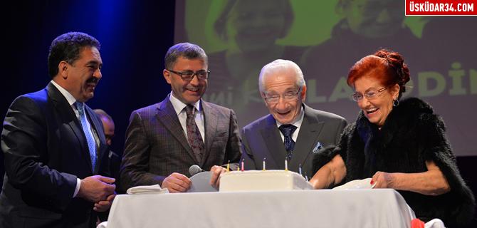 Alaeddin Yavaşca'nın 90. Yaş Günü Üsküdar'da kutlandı