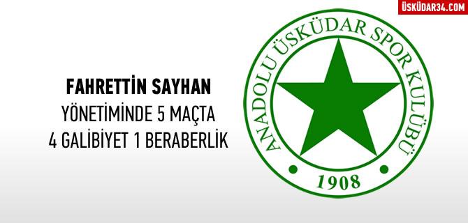 Anadolu �sk�dar'da galibiyet serisi devam ediyor