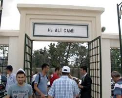 Burhaniye Hz. Ali Camii açıldı