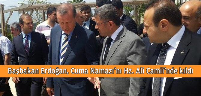 Başbakan Erdoğan Cuma Namazını Üsküdar'da kıldı