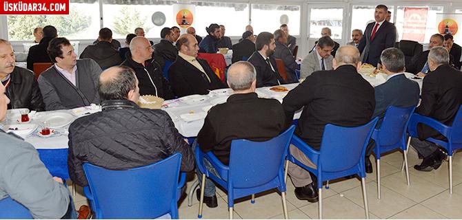 Başkan Türkmen Harem'de esnafla buluştu
