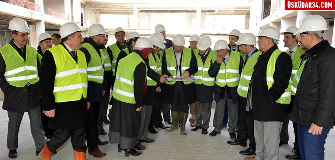 Belediye Yeni Hizmet Binası Üsküdar'a nefes aldıracak