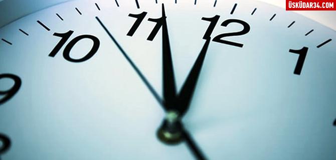 Kış saati uygulaması 27 Mart'ta sona erecek