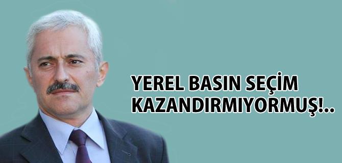 Bülent Şirin, ''Yerel Basın Seçim Kazandırmıyormuş!..''