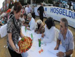 Bulgurlu 'Bulgur Pilavıyla' Şenlendi