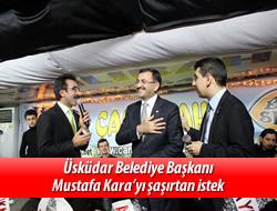 Mustafa Kara'yı şaşırtan istek