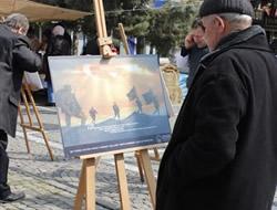 Üsküdar'da Şehitlerimizin anısına sergi düzenlendi