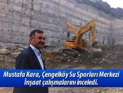 Çengelköy'de inşaat devam ediyor