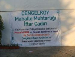 Çengelköy iftar çadırı