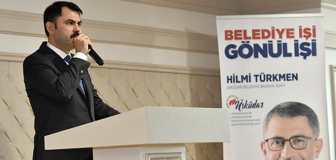 Çevre ve Şehircilik Bakanı Murat Kurum'dan Üsküdar'a önemli ziyaret