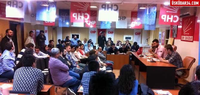 CHP �sk�dar Gen�lik �rg�t�nden �rg�t toplant�s�