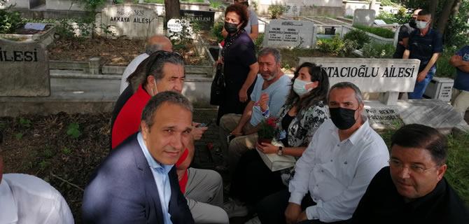 CHP Üsküdar İlçe Örgütü Nesimi Çimen'i unutmadı