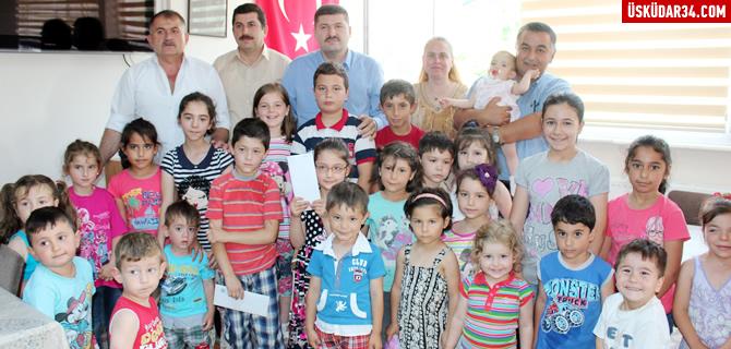 Cide Soğuksu Derneği bayram öncesinde çocukları sevindirdi
