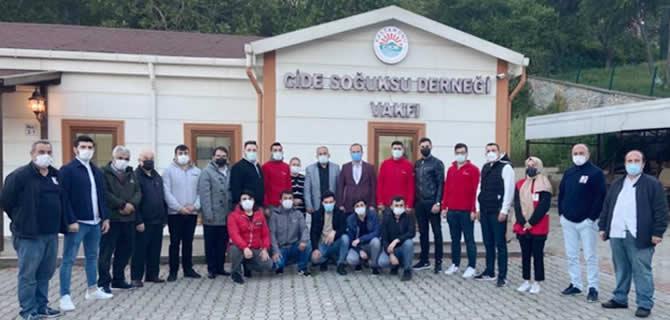 Soğuksulu gençler kan bağış kampanyası düzenledi