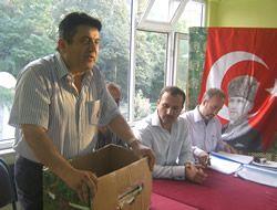 Yeni Başkan Hamdi Şenol oldu.