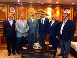 Cideliler Başkan Kara'yı ziyaret etti
