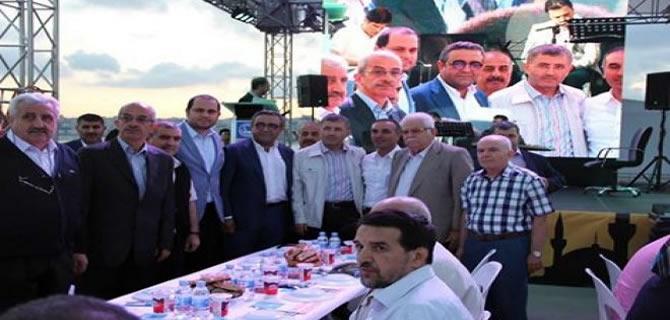 Diyarbakırlılar Üsküdar iftarında buluştu