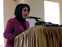 Emine Erdoğan Beylerbeyi'nde sergi açtı