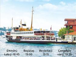 Eminönü-Çengelköy vapur hattına ek sefer