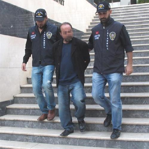 Üsküdar'da taksicilik yaparken yakalandı