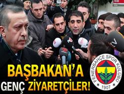 Genç Fenerbahçeliler Taraftar Grubu Başbakan Erdoğan'ı ziyaret etti