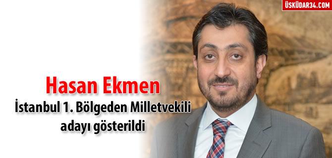 Hasan Ekmen AK Parti'den milletvekili aday� g�sterildi
