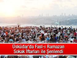 Fasl-ı Ramazan Sokakları Şenlendirdi