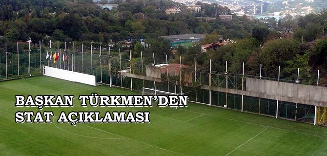 Hilmi Türkmen, Beylerbeyi Stadı hakkındaki iddialara yanıt verdi