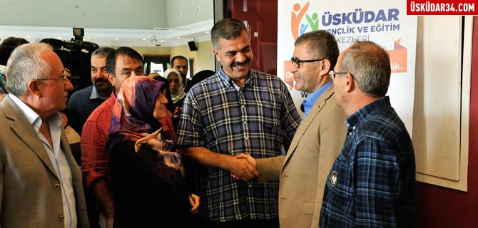 Başkan Türkmen öğrenci velileriyle biraraya geldi