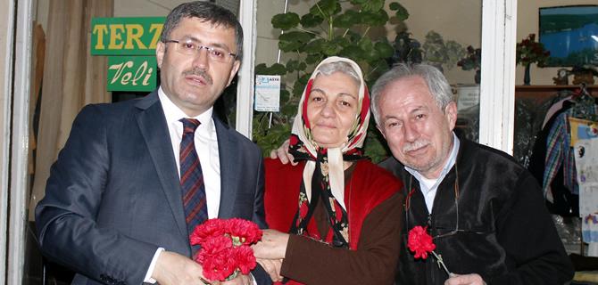 Hilmi Türkmen, ''Söz verdiğimiz gibi yanınızdayız''