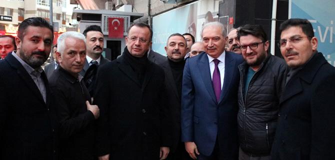 İBB. Başkanı Mevlüt Uysal, AK Parti Üsküdar'ı ziyaret etti