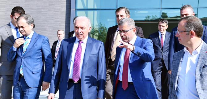 İBB. Başkanı Uysal, Üsküdar Belediyesi'ni ziyaret etti