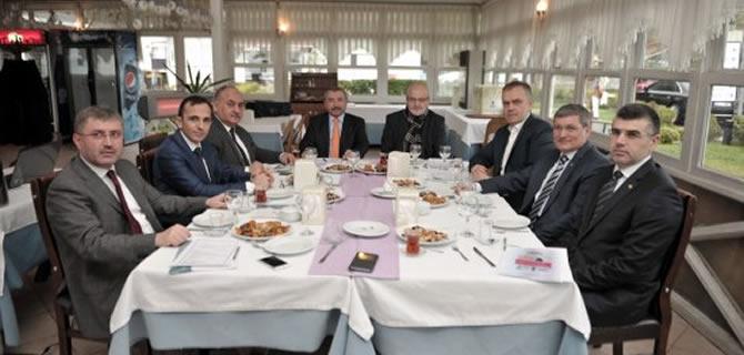 Anadolu Yakası Belediye Başkanları Beykoz'da buluştu