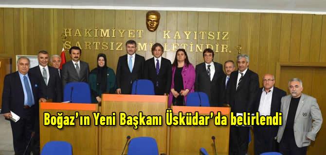 Boğaz'ın Yeni Başkanı Üsküdar'da belirlendi