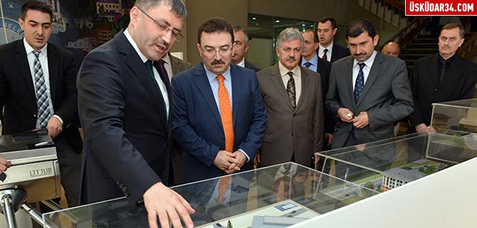 Selami Altınok, Üsküdar Belediyesi'ni ziyaret etti