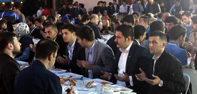 İstanbul Ülkü Ocakları 2. Bölge Başkanlığı Birlik ve Beraberlik İftarı düzenledi