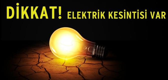 İstanbul Anadolu Yakası'nda 10 ilçede elektrik kesintisi