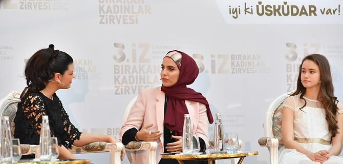 İz Bırakan Kadınlar Zirvesi'nin 3'üncüsü Üsküdar'da gerçekleştirildi