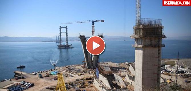 2016'da bitecek İzmit Körfez Geçiş Köprüsü, 70 dakikalık yolu 6 dakikaya indirecek.... Tıkla İzle