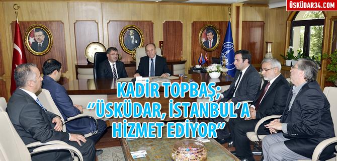 Başkan Topbaş'tan Üsküdar'a destek sözü