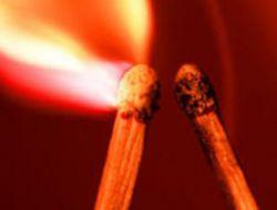 GATA'da küçük çaplı yangın