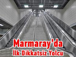 Marmaray'ın en talihsiz yolcusu