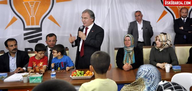 Mehmet Ali Şahin Üsküdar'da seçim çalışmalarına katıldı