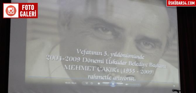 Merhum Mehmet �ak�r, vefat�n�n 5. y�l�nda dualarla yad edildi