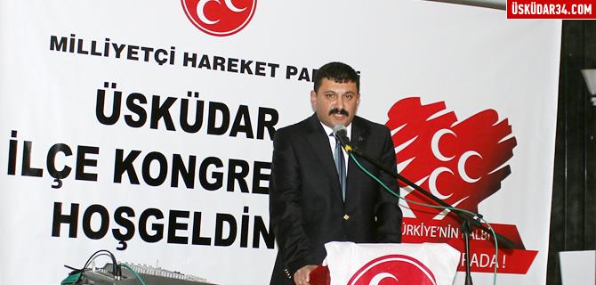MHP �sk�dar'da Hakan Aslan g�ven tazeledi