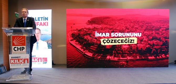 Ahmet Kılıç, Üsküdar'a Nefes Aldıracak Projelerini açıkladı